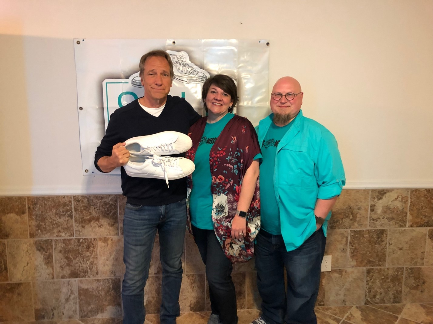 Mike Rowe Visits Sole Mission